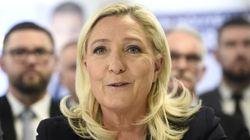 Face au coronavirus, Marine Le Pen craint une moindre mobilisation aux