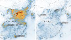 La NASA observa una reducción de la polución en China por el