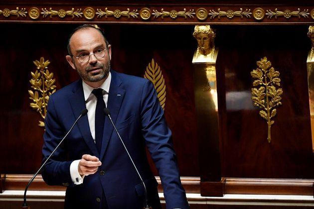 Le Premier ministre Édouard Philippe ce samedi 29 février à l'Assemblée