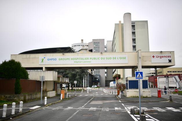 L'hôpital de Creil dans l'Oise, un département foyer du coronavirus en