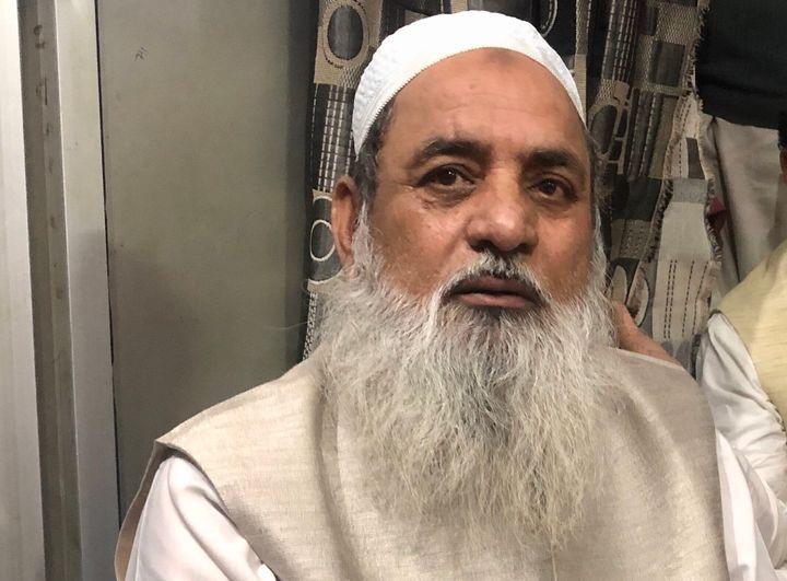 Maulana Mohammad Dawood pictured inside the Babul Uloom Masjid and Madrasa in Jaffrabad.