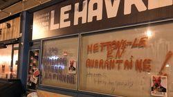 Au Havre, la permanence de Philippe taguée après le