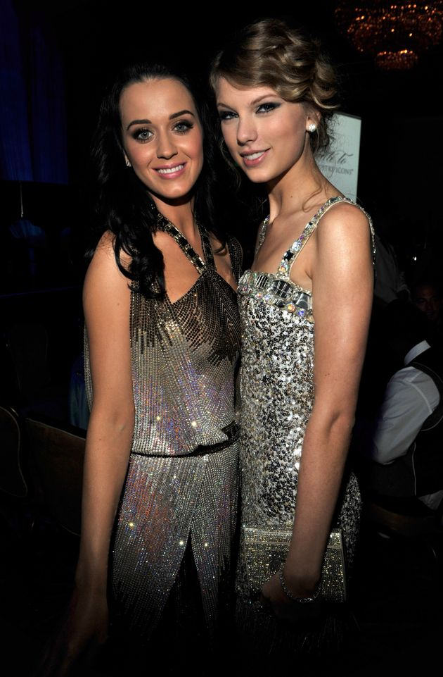 Katy Perry and Taylor