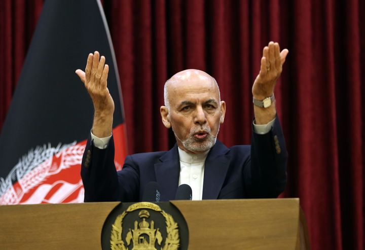 Afghan President Ashraf Ghani won't be releasing the 5,000 prisoners the Taliban say must be freed before intra-Afghan negoti