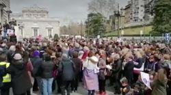 Centenares de mujeres reclaman en Madrid y Barcelona igualdad en la Iglesia