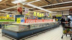 Avec le coronavirus, ce panneau dans un supermarché ne passe pas
