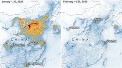 NASA Images Show Air Pollution In China Dropped During Coronavirus
