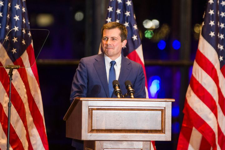 Democratic U.S. presidential candidate Pete Buttigieg announces his withdrawal from the race for the 2020 Democratic presiden