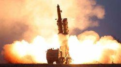 북한이 동해상으로 미상 발사체 2발을