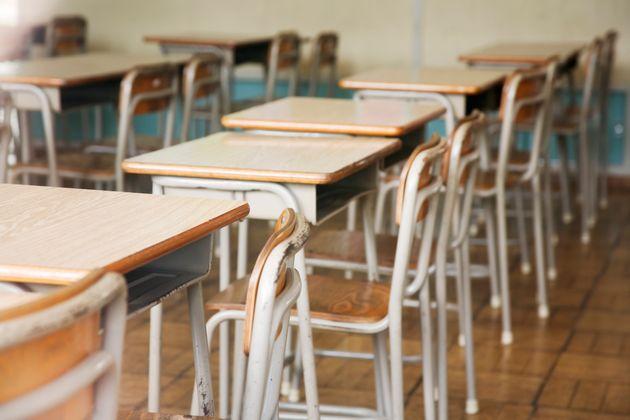 空っぽの教室(イメージ)