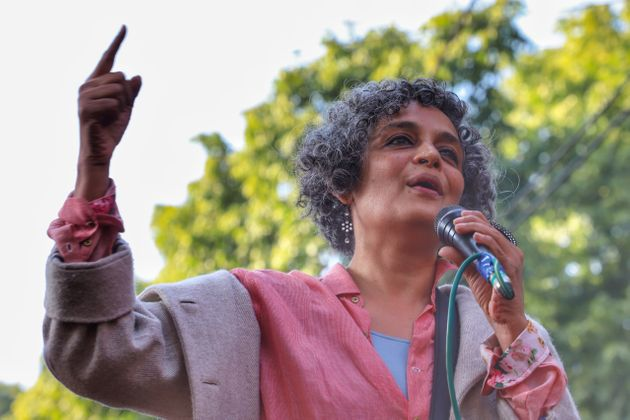 Arundhati Roy in a file