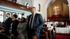 Alabama Churchgoers Den Rücken Kehren Bloomberg Während Der
