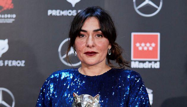 Candela Pena, en los Premios Feroz