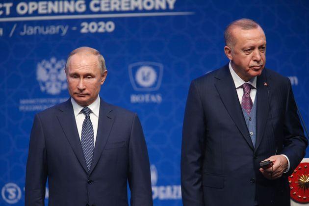 Συνάντηση Πούτιν - Ερντογάν στις 5 Μαρτίου για τις τουρκικές επιχειρήσεις στην Ιντλίμπ της