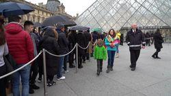 El Louvre cierra sus puertas por el