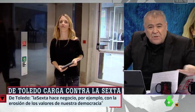 Ferreras responde a Cayetana Álvarez de