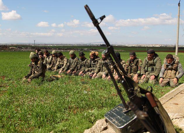 Σύριοι αντικαθεστωτικοί...