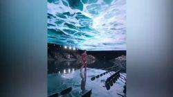Acqua alta in passerella: la geniale scenografia di Balenciaga per riflettere sul