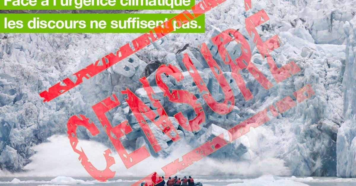 Cette pub de Greenpeace jugée trop politique par le métro parisien pour être diffusée