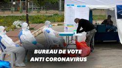 Voter en pleine épidémie de coronavirus, cela ressemble à