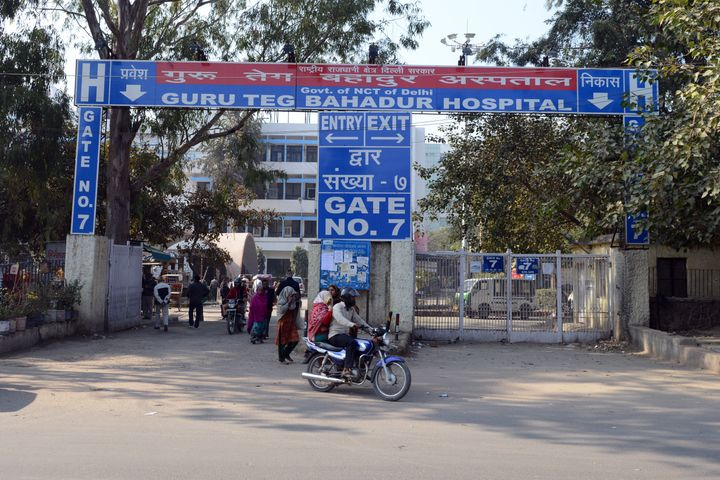 GTB hospital in a file photo. Most number of fatalities during the riots were recorded in this hospital.