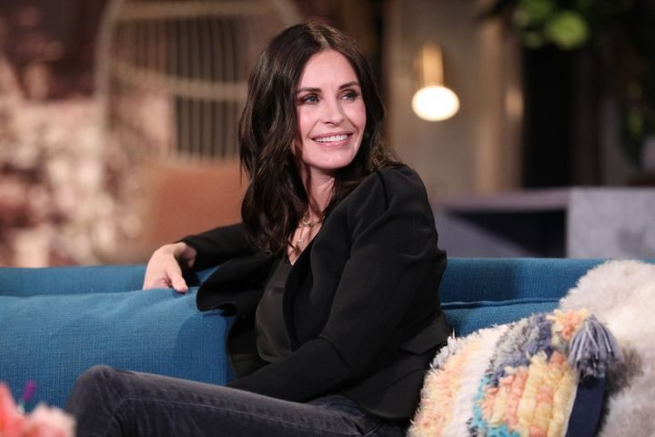 Courteney Cox admitted the royal family just isn't for her.