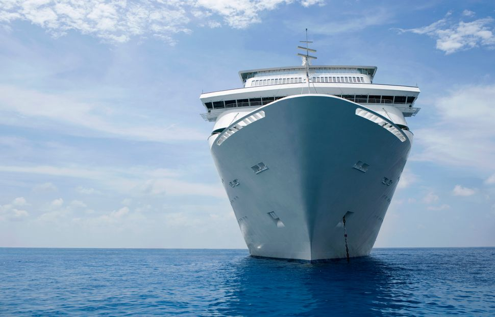 Cruises emit three to four times more carbon dioxide per passenger-kilometer than flying.