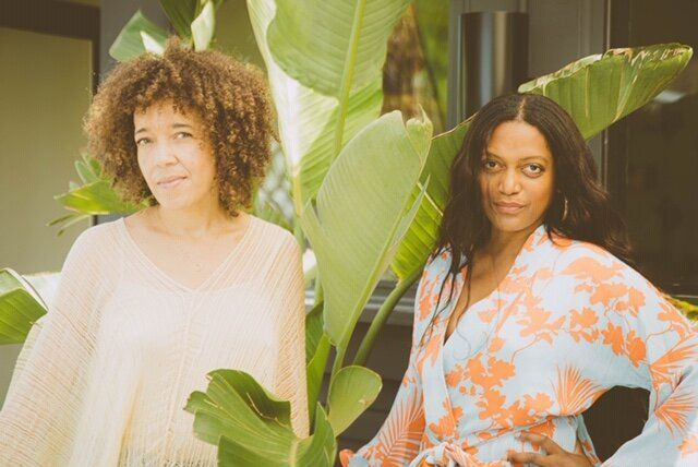Myka Harris (left) and Kadi Lee (right), founders of Highbrow Hippie.