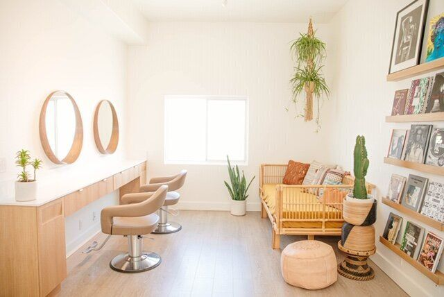 The Highbrow Hippie Salon in Los Angeles.
