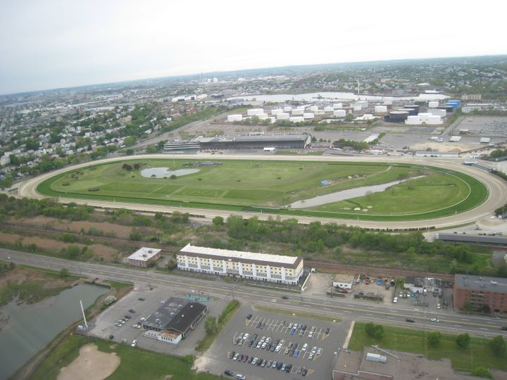 The Suffolk Downs site in East Boston