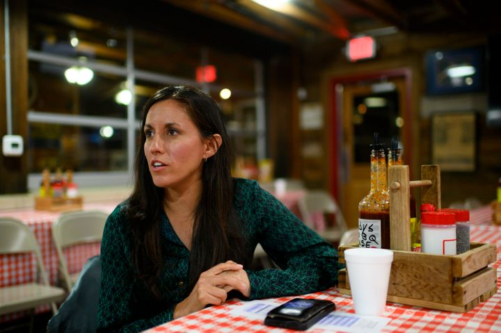 Cristina Tzintzún Ramirez is one of 12 Democrats running for the Democratic nomination for U.S. Senate in Texas. She r
