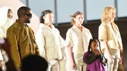 North West Makes Rapping Debut At Dad Kanye West's Yeezy Show In