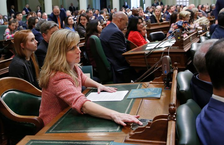 California state Rep. Christy Smith (D) is considered likely to proceed to a runoff in the 25th Congressional District campai