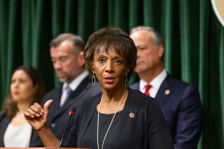 Los Angeles County District Attorney Jackie Lacey has come under fire from civil rights and criminal justice reform activists