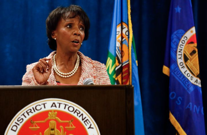 Los Angeles County District Attorney Jackie Lacey will face progressive prosecutor George Gascón in the general electi