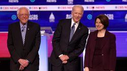 미국 민주당 경선이 '샌더스 vs 바이든 vs 블룸버그'로 좁혀지고