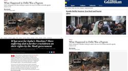 'Pogrom', 'Hindu Nationalist Rampage': Foreign Media Doesn't Hold Back On Delhi