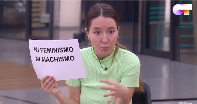 La periodista Anna Pacheco, en 'OT