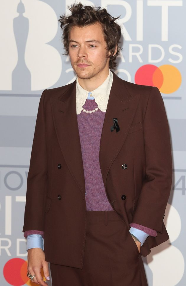 Harry appeared at the Brit Awards the day after he was