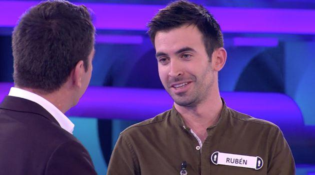 Arturo Valls y Rubén, concursante de 'Ahora