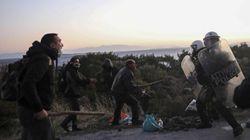 Palos y disparos al agua: así impide la Guardia Costera la entrada de migrantes en