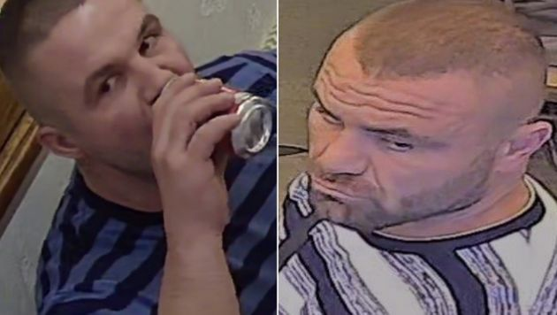 Police have released stills of two men they would like to speak to in connection with the incident in