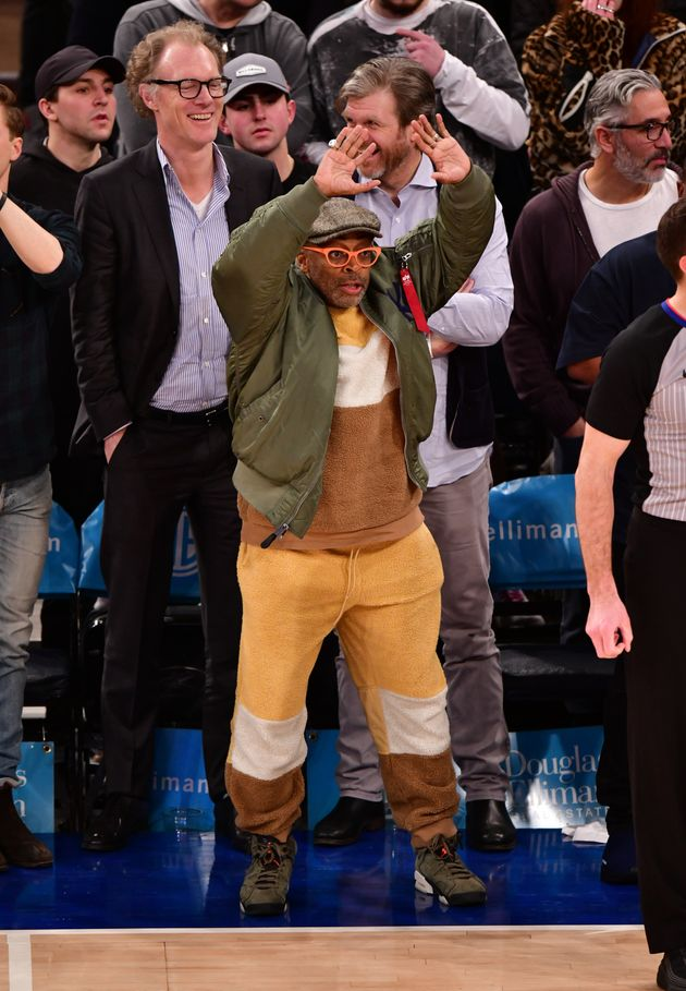 Spike Lee's Meltdown With Knicks' Arena Security Caught On