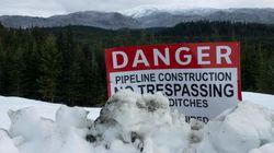 Coastal GasLink: les travaux ont repris sur le gazoduc et la GRC est de