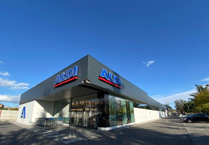 Supermercado Aldi en Madrid