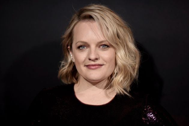 Elisabeth Moss attends the premiere of