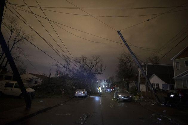 Une tornade a détruit la ville de Nashville aux