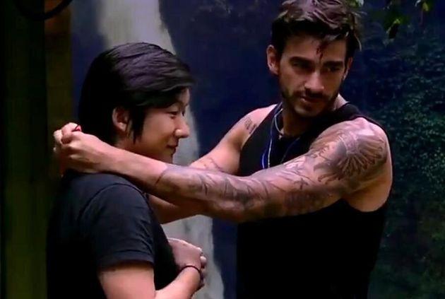 Pyong e Guilherme disputa voto a voto sua permanência no