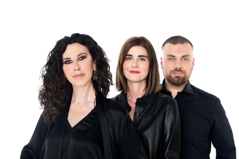 Ελευθερία Αρβανιτάκη, Λήδα Ρουμάνη, Θέμης