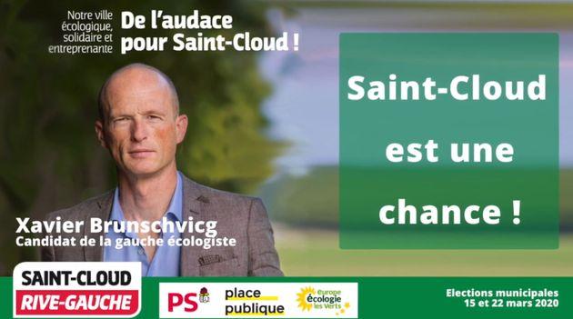 Candidat à la mairie de Saint-Cloud, Xavier Brunschvicg a tenté de faire campagne sur Meetic...